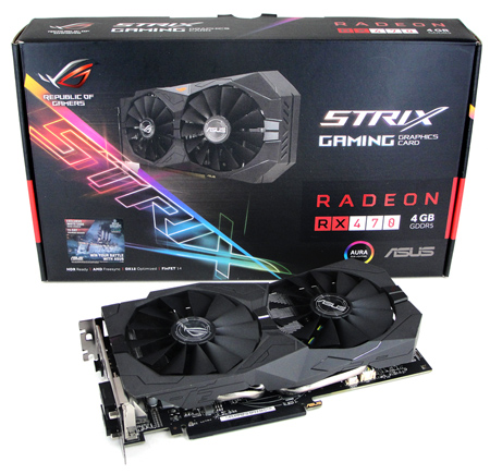 ASUS ROG STRIX Radeon RX 470 OC Review
