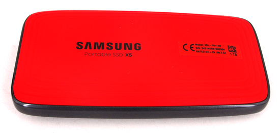 Thunderbolt: Samsung Portable SSD X5 1 TB Review